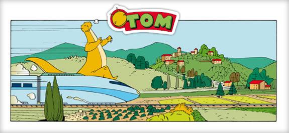 Cómic: TOM – Prueba de velocidad