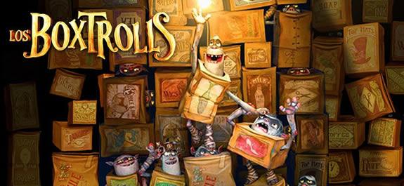 Descubrimos a los personajes de Los Boxtrolls con sus nuevos carteles