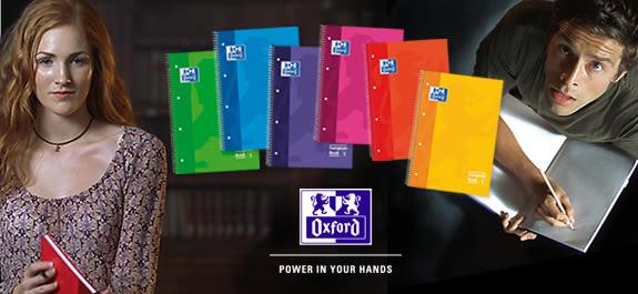 Prepárate para la vuelta al cole con los cuadernos Oxford
