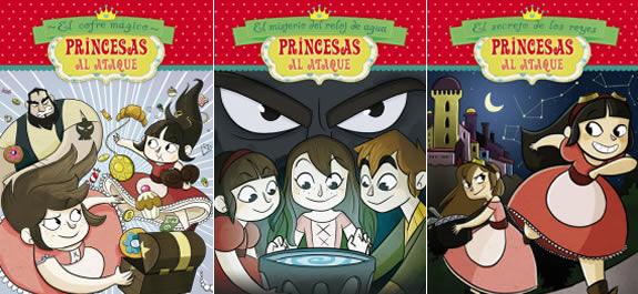 'Princesas al ataque', 4 libros ilustrados sobre dos princesas que no necesitan ser salvadas