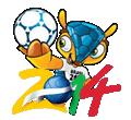 Dibujos de Mundial de Fútbol 2014