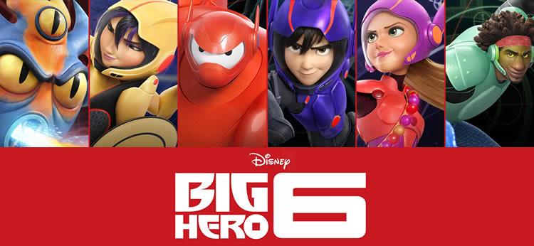¿Qué personaje de Big Hero 6 es tu favorito?